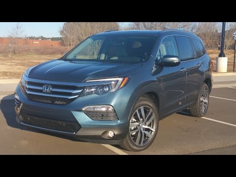 2016 Honda Pilot Elite w/AWD Review - Upscale Goodies, Honda-Style