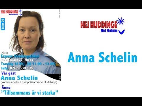 Hej Huddinge TALKSHOW med Shabnam (Anna Schelin)