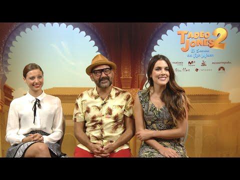 Michelle Jenner, Adriana Ugarte y José Corbacho presentan 'Tadeo Jones 2'
