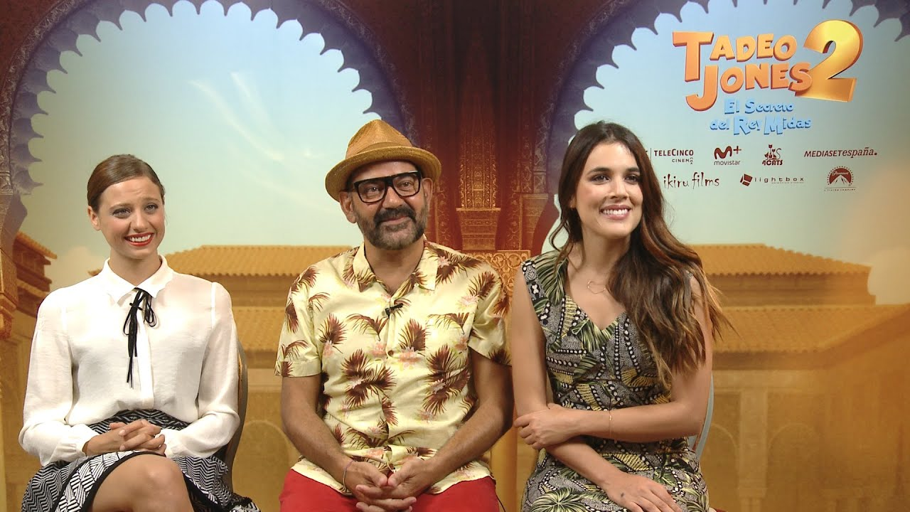 Michelle Jenner Adriana Ugarte Y José Corbacho Presentan Tadeo Jones 2 Youtube