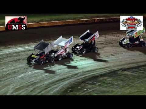 9-10-2016 UMSS Sprints Cedar Lake Speedway