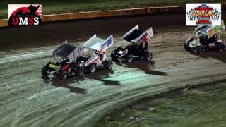 Cedar Lake Speedway UMSS Sprint Car Highlights