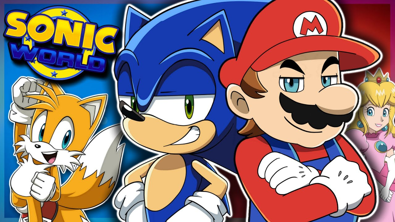 Sonic Meets Mario | Sonic & Tails Play Sonic World