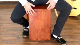 How To Play Flamenco - Cajón Rhythm for Sevillanas