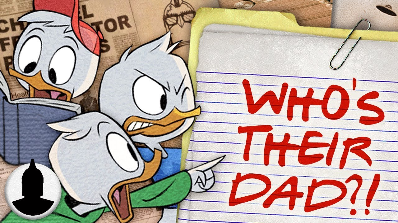 Who is Huey, Dewey and Louie's Father?! - DuckTales Cartoon Conspiracy  (Ep. 164)