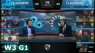 Video Cloud 9 Academy vs Team Liquid Academy | Week 3 NA Academy League Summer 2018 | C9A vs TLA download MP3, 3GP, MP4, WEBM, AVI, FLV Agustus 2018