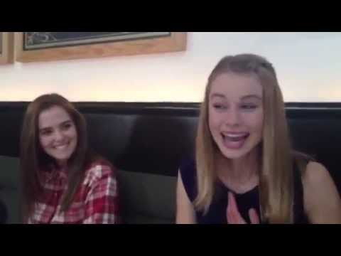 Lucy Fry  upon learning she got the lead in VampireAcademy