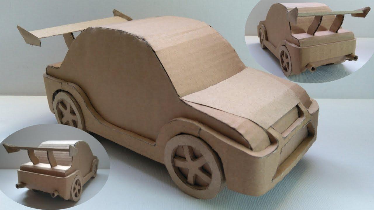 Must Watch How To Make Amazing Cardboard Drift Race Car Easy Diy