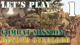 Let's Play Combat Mission: Beyond Overlord - The Farm Part 1