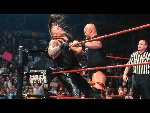 """Stone Cold"" Steve Austin vs. The Undertaker - WWE Title Match, April 30, 2001"