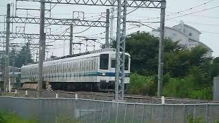[警笛あり]東武野田線 8000系81114F 大宮公園駅付近通過