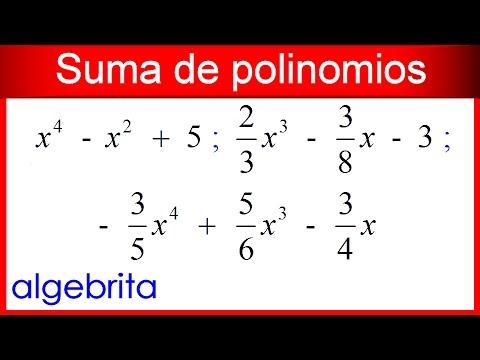 suma y resta de polinomios ejercicios resueltos pdf