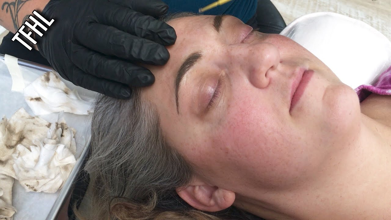 Permanent Makeup Softap Eyebrows Part I Youtube