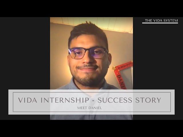 Meet Daniel a Vida Intern