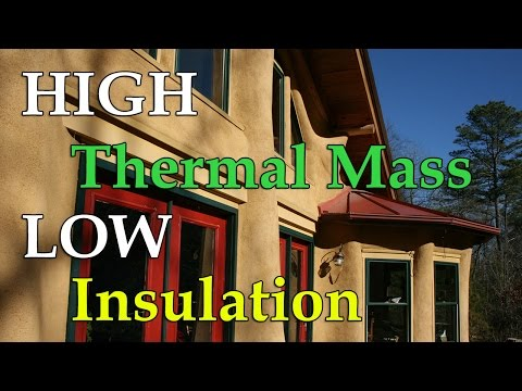 How Does a Cob House Have High Thermal Mass But Low Insulation?