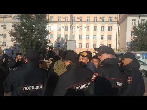 Задержание депутата Баира Цыренова!