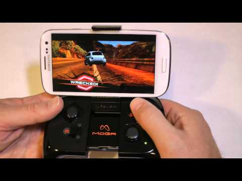 The Moga Android Gaming Controller - Up Close Look