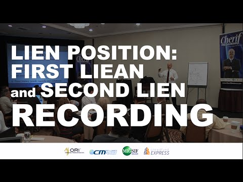 Lien Position | First Lien and Second Lien Recording