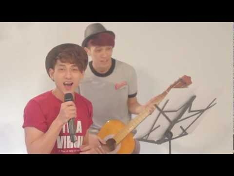 [Funny clip - 365daband] Cover - Hey Soul Sister - Isaac & Tronie