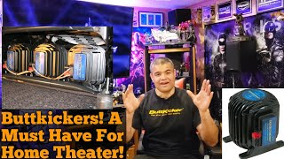 Home Theater Talk : Buttkicker LFE: The Must Have Home Theater Add On. Let's Talk About It.