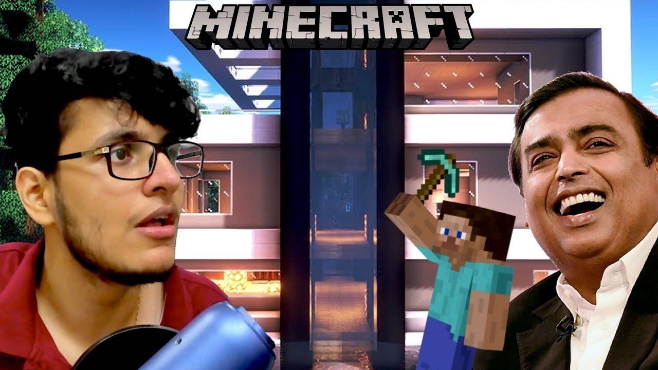 Building My Ambani ka Ghar in Minecraft Survival (#6)