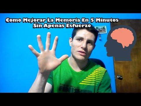 COMO MEJORAR LA MEMORIA EN 5 MINUTOS (y sin esfuerzo.)
