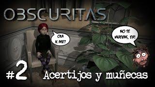 OBSCURITAS #2 | ACERTIJOS Y MUÑECAS | Gameplay Sub Español Let´s Play