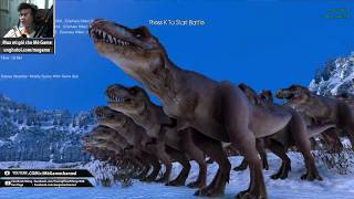 Ultimate Epic Battle Simulator #1 : Đội quân T-rex (500 con) vs Zom...