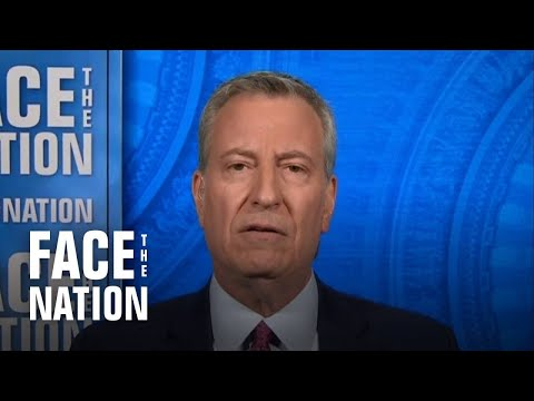 """De Blasio says Cuomo is """"literally in the way of us saving lives"""" by refusing to resign"""