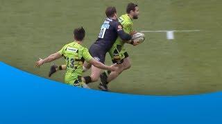 Brilliant tackle from Danny Cipriani!