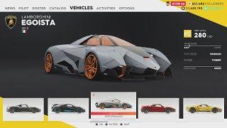 The Crew 2 Hot Shots - Bugatti Divo, Lamborghini Egoista and Mitsubishi Lancer Evo X (New Cars)