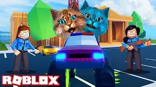 ИСТОРИЯ ПРО ПОБЕГ ИЗ ТЮРЬМЫ (Roblox Jailbreak) Весёлый Кот и КОТЁНОК ЛАЙК #2