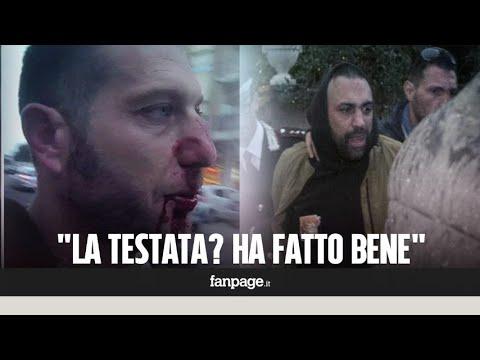 """Ostia, giornalisti in presidio dopo l'aggressione. Ma i residenti: """"Roberto Spada ha fatto bene"""""""