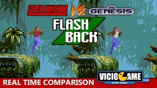 🎮 Super Nintendo VS Mega Drive (Flashback)