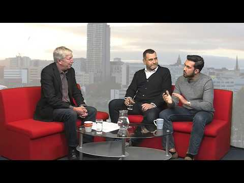 Sheffield Live TV Ron Atkinson, James Shield, Azz Mohammed 16.11.17 Part 2