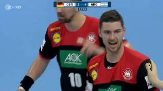 Deutschland - Argentinien Handball