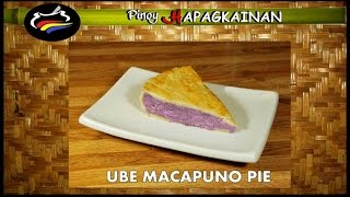 Ube Macapuno Pie Pinoy Hapagkainan