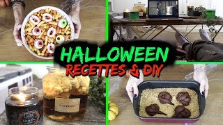 Halloween Night - DIY & Recettes Ultra Faciles !