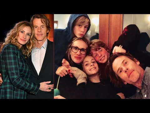 When Julia Roberts' Husband Shared A Family Snap, Fans Were Stunned By Their Gorgeous Kids