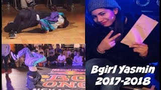 Bgirl Yasmin (KAKB) 2017-2018. Battle of the year champion.