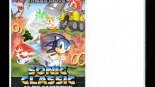 Groovy Options - Sonic Brother Trouble (SEGA Mega Drive)