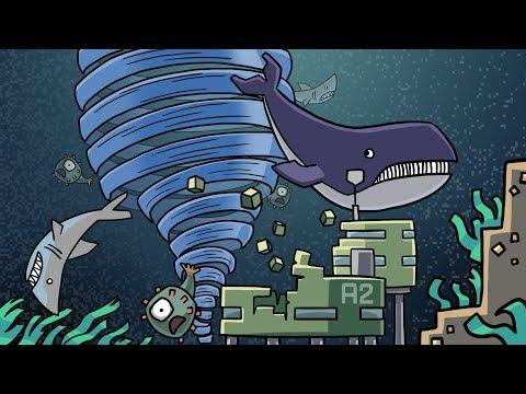 Minecraft | BASE VS UNDERWATER TORNADO CHALLENGE! (Whirlpool vs Base)