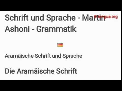 Aramäisch, Assyisch lernen - Learn Aramaic, Assyrian - Schrift, Alphabet - longua.org