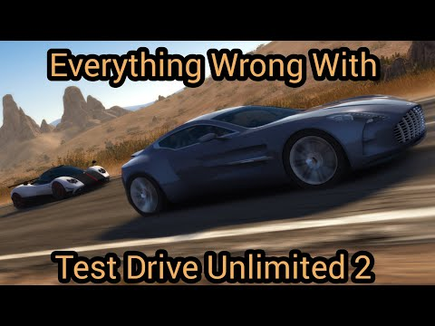 Everything Wrong With Test Drive Unlimited 2 In Less Than 1080 Seconds