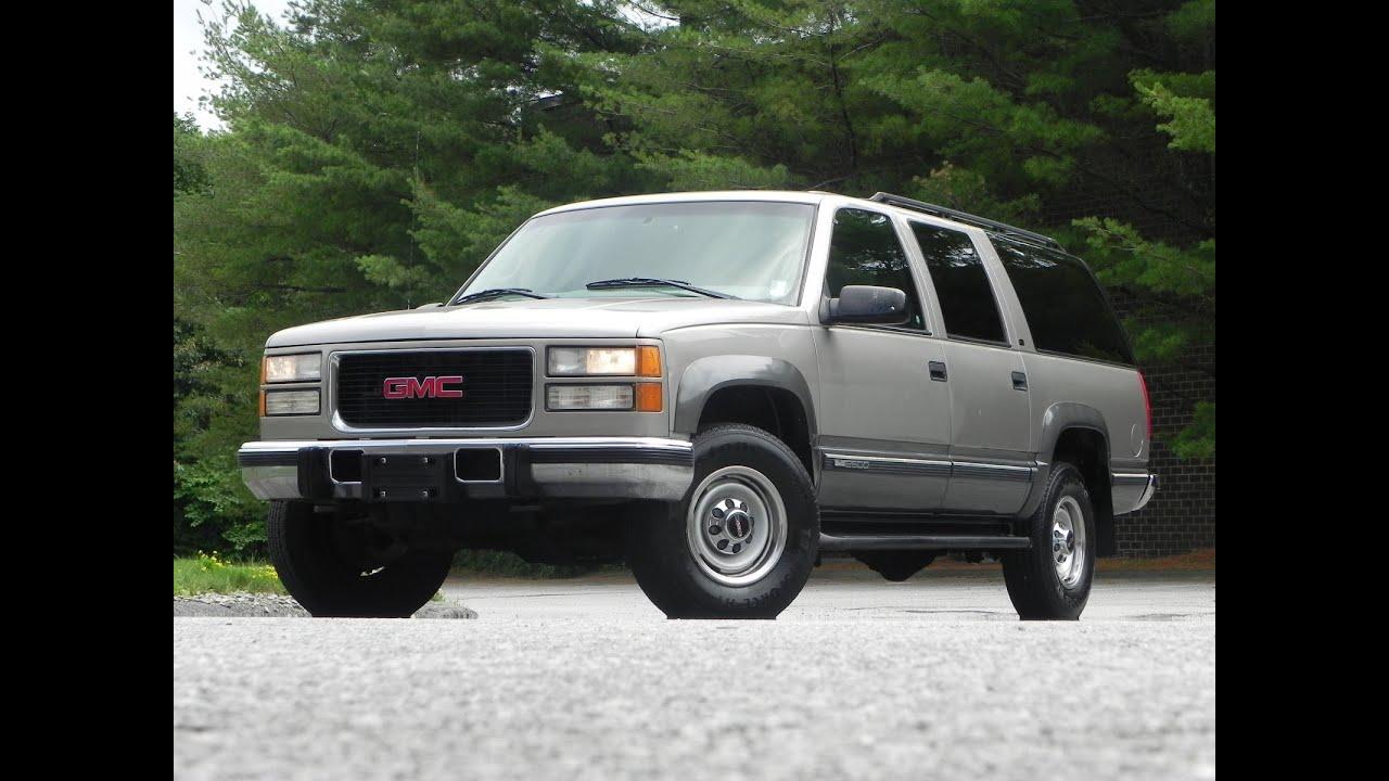 1999 GMC Suburban 6 5L Duramax Diesel