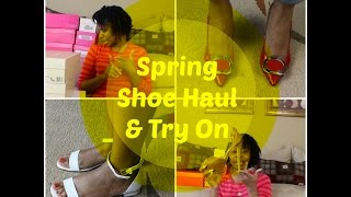 Spring Shoe Haul & Try On Michael Kors, Shoe Dazzle || Simply Tamika