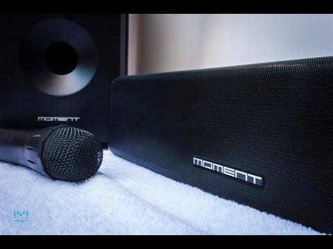 #demo livestreamed: Moment - Wireless Karaoke Soundbar