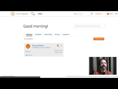 Amazon Lightsail Tutorial: Launch a Linux Instance