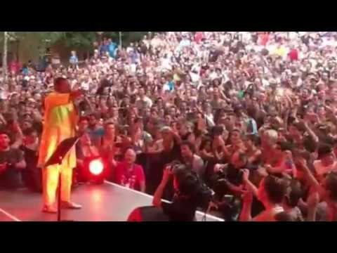 "Calypso Rose ""I am African"" live@Poupet Festival July 7th 2017"