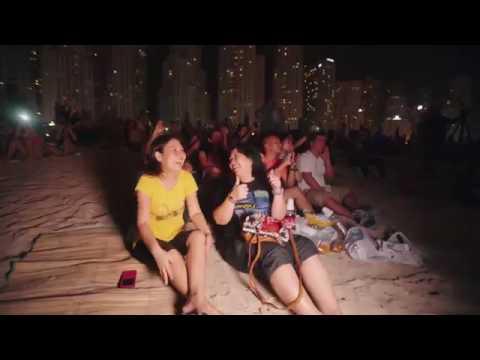 Eid Fireworks in Dubai - 30 seconds
